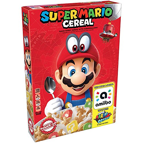 Kellogg's Super Mario Cereal, 8.4 Ounce (2 Pack)