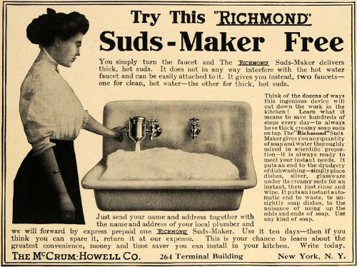 1910-ad-mccrum-howell-co-suds-maker-sink-faucets-original-print-ad