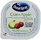 Ocean Spray No Thaw Cranapple, 4-Ounce Containers (Pack of 48)