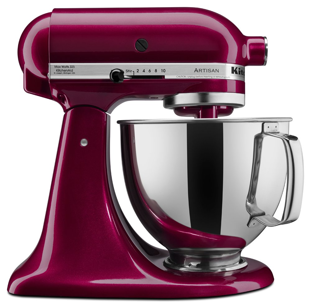 KitchenAid Stand Mixer in Bordeaux - Valentine's Day Gift Guide for the Cook www.pinchofnutmeg.com