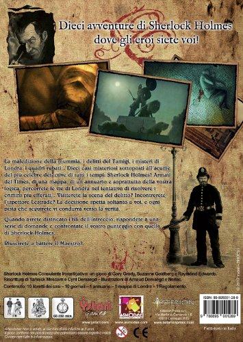 Asterion 8550 sherlock holmes consulente investigativo edizione italiana - Sherlock holmes gioco da tavolo ...