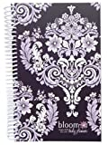 2014-15 Academic Year bloom Daily Day Planner Fashion Organizer Agenda August 2014 Through July 2015 Purple Damask