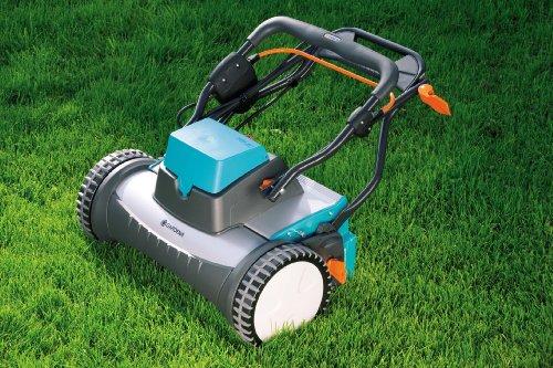 Gardena 4026 U 15 Inch 12 Volt Cordless Electric Reel Lawn