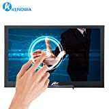 Kenowa Touchscreen Portable Monitor,10.1 Inch 2560x1600 IPS 2K Monitor Full HD IPS Display,10 Points Capacitive Touch,USB Power HDMI Video Input, Extremely Slim 12.5mm,Alu Body,Bulit in Speakers (Color: 10.1 2K Touchscreen)