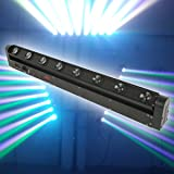 Tengchang 8X12W 100W RGBW 4in1 Beam LED Bar Moving Head DMX DJ Stage Lights (Color: Stlye A)