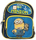 Despicable Me 2 Boys Dial No 5 Minion Holding Cell Phone 16 Backpack