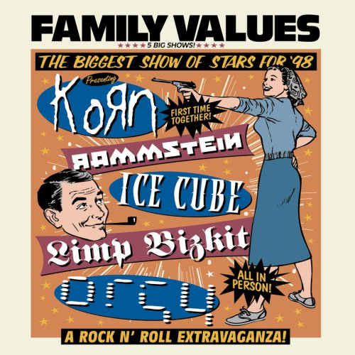 Family Values Tour '98 by Various Artists, Korn, Incubus, Orgy and Limp Bizkit