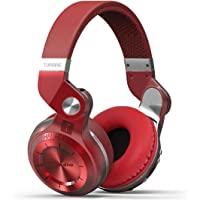 Bluedio T2 On-Ear Wireless Bluetooth Headphones (Red)