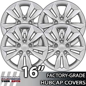 "08-12 Chevy Malibu 16"" Chrome Bolt-On Wheel Covers"