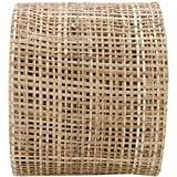 Arts Craft Natural Abaca Burlap, Natural, 4-Inch by 10-Yard