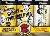 It's Always Sunny in Philadelphia: Complete Seasons 1-5 + A Very Sunny Christmas Special (DVD)