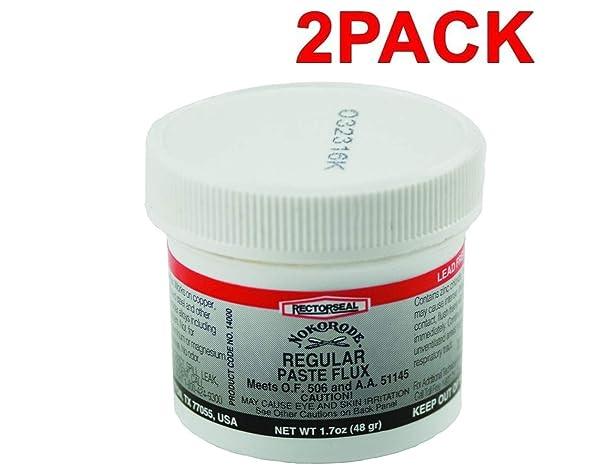Rectorseal 14000 1.7-Ounce Nokorode Regular Paste Flux (2 Pack N/A) (Color: 2 Pack N/A)