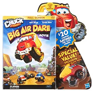 Amazon.com: Chuck Big Air Dare DVD And Vehicle: Toys & Games