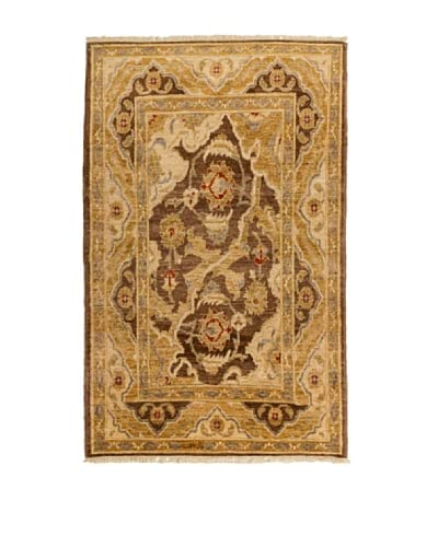 Navaei & Co Tappeto Annodato A Mano Zigler Multicolore 173 x 98 cm