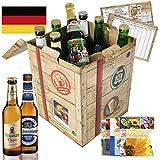 """Bierset """"Die Besten Biere Deutschlands"""" mit Geschenkkarten und Geschenkverpackung"""