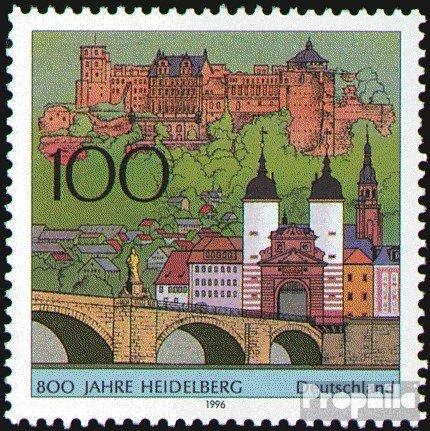 BRD (BR.Deutschland) 1868 (kompl.Ausgabe) postfrisch 1996 800 Jahre Heidelberg (Briefmarken für Sammler)