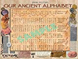 Our Ancient Alphabet Hebrew Alphabet Chart
