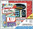 me & my BIG ideas Friends A Kid Like Me Scrapbook Box Kit, 8-Inch by 8-Inch