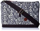 Roxy Cotton Black Messenger Bag (ARJBA03044)