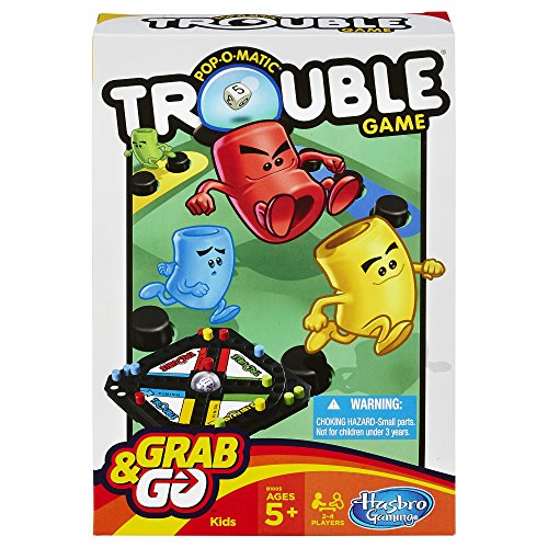 Pop-O-Matic Trouble Grab & Go Game - 1