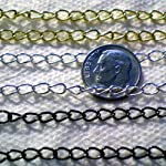 10 Feets Silver/Gold/Black Plated Extender Chain 3cm~Jewelry Making~