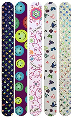 FunkyNailFile FunFiles (PACK of 5 DESIGNS MAY VARY)