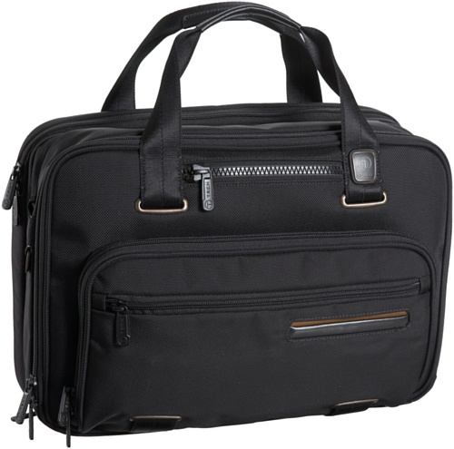 Tumi T-Tech Data T-Pass Ford Expandable Laptop Tote,Black,one size