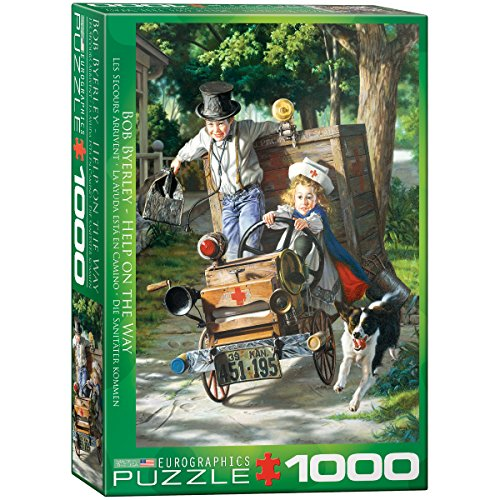 EuroGraphics Help on The Way by Bob Byerley Jigsaw Puzzle (1000-Piece)