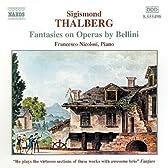 タールベルク:ベッリーニのオペラによる幻想曲集(ピアノ・ソロ)