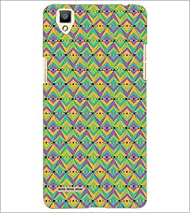 PrintDhaba Pattern D-5412 Back Case Cover for OPPO F1 (Multi-Coloured)