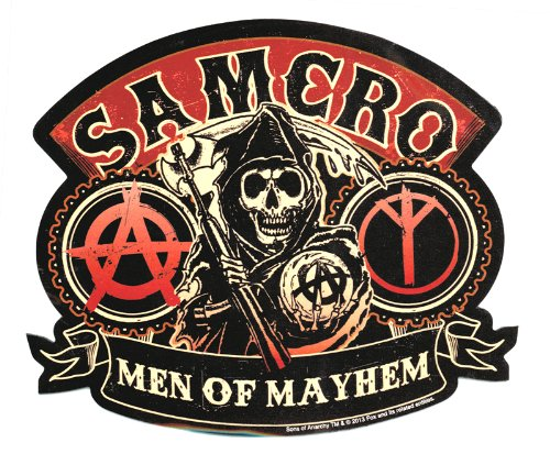 Sons Of Anarchy Men Of Mayhem Car Magnet - 1