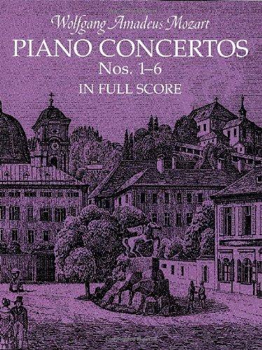 Piano Concertos Nos. 1-6 in Full Score