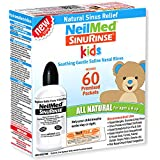 Neilmed's Sinus Rinse, Pediatric, Complete Saline Nasal Rinse Kit 60 Premixed Packets