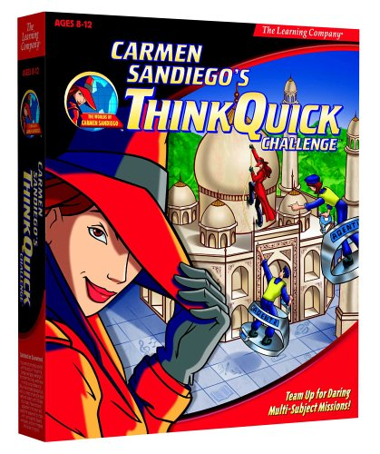 Carmen Sandiego&#8217;s Think Quick Challenge (Jewel Case)