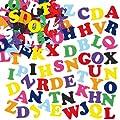 Lot de 550 Lettres de l'Alphabet Autocollantes en Feutrine - Apprendre l'alphabet tout en s'amusant