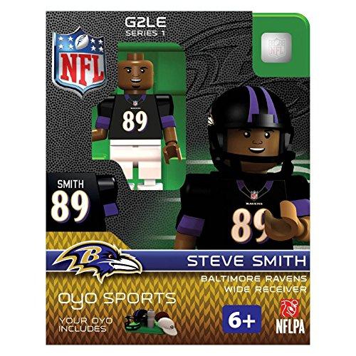 Steve Smith NFL Baltimore Ravens Oyo G2S1 Minifigure