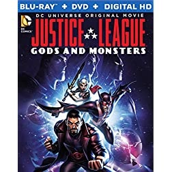 Justice League: Gods & Monsters [Blu-ray]