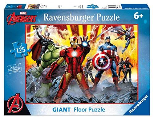 Ravensburger Italy 09783 8 - Puzzle Avengers, 125 Pezzi Giant