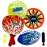 Soak Beach Game Combo 4 In 1 Set Water Series For Beach And Summer Fun (Includes One Volleyball, Football, Beach...