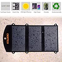 (Light Weight)CHOE 19W Portable Solar Ch...