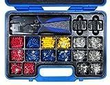 Kabelschuhklemmzange 42590L Premium 5 – 6 0 mm² (rot blau