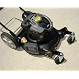 Eazy Mow New Lawn Mower Swivel Wheel Kit Makes Any Push Or Self-Propelled Mower A Zero-Turn