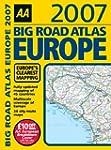 AA Big Road Atlas Europe 2007 (AA Atl...