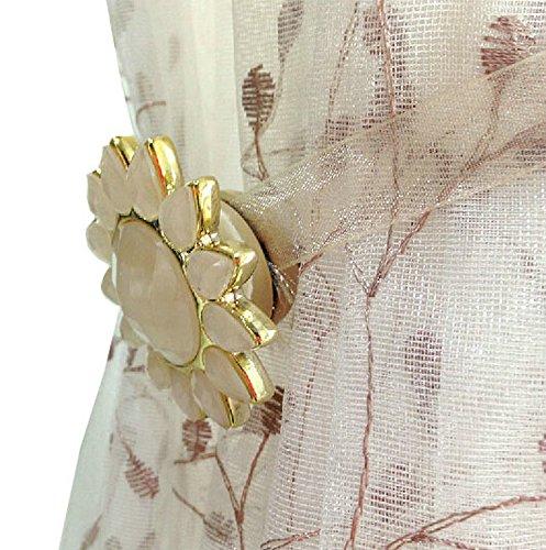 Ayygift Elegant Magnetic Curtain Rope Tieback