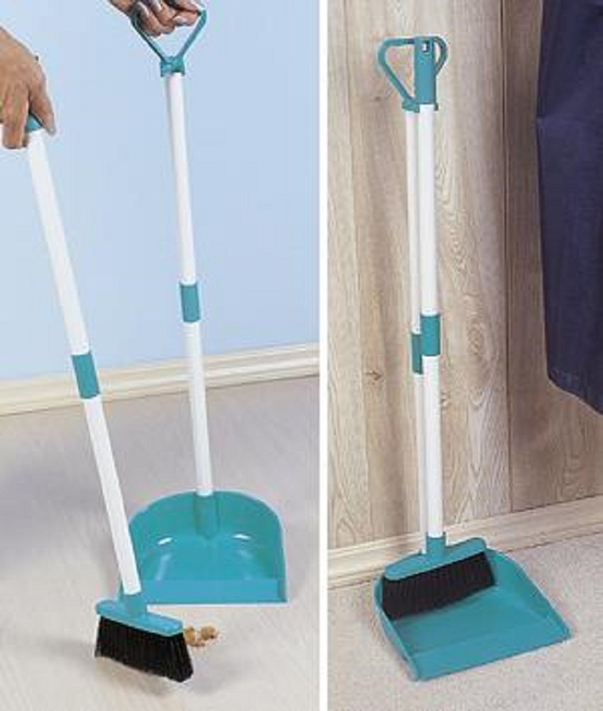 Home-X® Broom and Dustpan Set