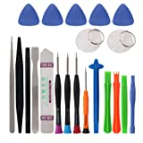 21 PCS Phone Repair Tool Kit,YouChangBest Universal Precision Repair Screwdriver tools Battery open Pry Tools Kit Fit for Most iPhone and Android Devi