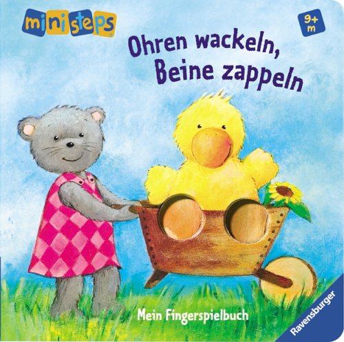 ministeps&#174; B&#252;cher: Ohren wackeln, Beine zappeln: Ab 9 Monaten, Buch