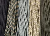 550 Paracord - Five Colors 100 Feet Total