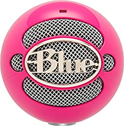 Blue Microphones Snowball USB Microphone (Hot Pink)