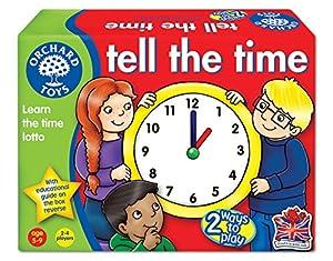 Orchard Toys Tell The Time - Juego educativo para aprender la hora (importado de Reino Unido)